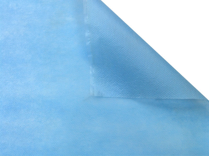 Blue protective medical laminate